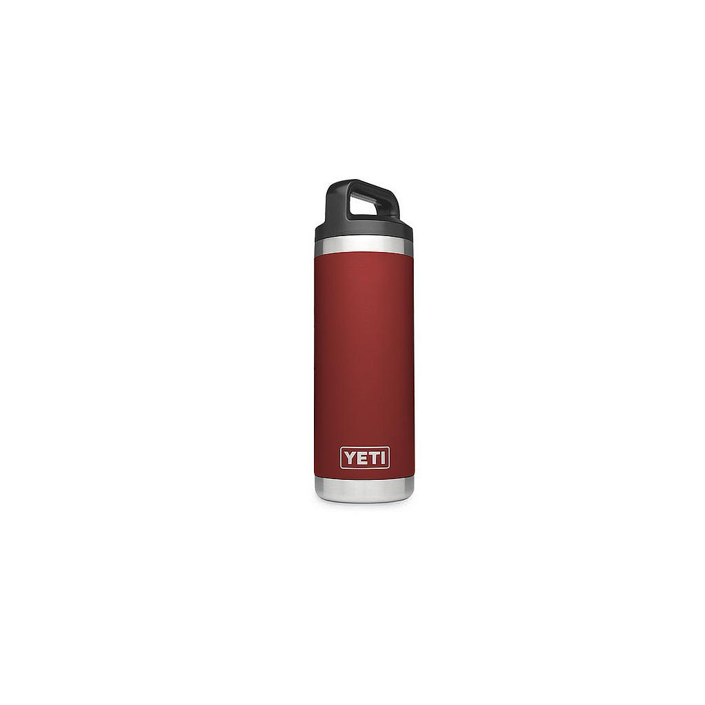 YETI RAMBLER 18 OZ BOTTLER BRICK RED
